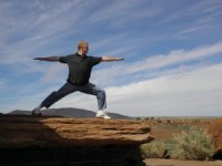 Yoga in Wapatki Arizona